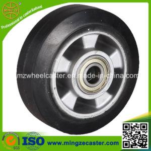 Industrial Aluminium 200mm Solid Rubber Wheel pictures & photos