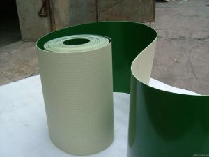 PVC Conveyor Belt PU Conveyor Belt with Cleat and Guide pictures & photos