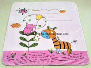 100% Polyester Two Layers Cloud Baby Blankets, Super Soft pictures & photos