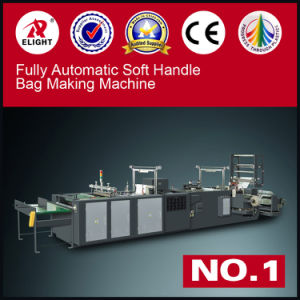 China Automatic Loop Handle Bag Making Machine Bag Maker pictures & photos