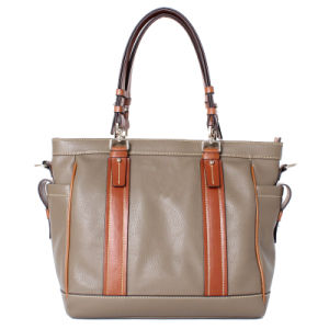 New Arrival Fashion Lady PU Tote Handbag (C70841-1) pictures & photos