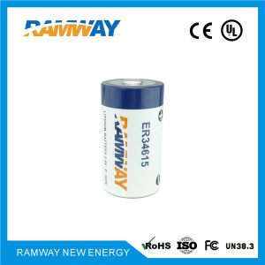 3.6V 19ah D Size Lithium Battery with UL Ce (ER34615) pictures & photos