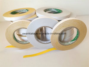 Double Sided Tape/Yellow Embroidery Double Side Tape pictures & photos