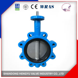 Cast Iron Wafer Type Butterfly Valve Without Pin pictures & photos