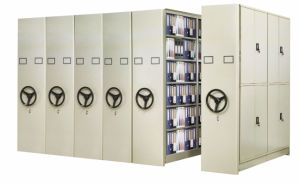 Mobile Casebook Cabinet/ Movable Medicine Storage Shelving for Hospital (T4B-04HSP) pictures & photos