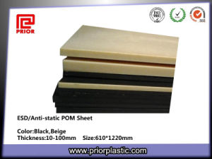Anti-Static Acetal Sheet with Natural Color pictures & photos