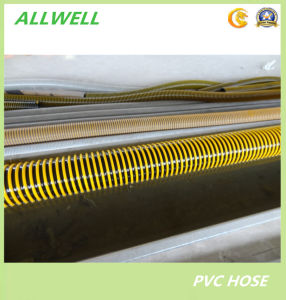 """PVC Flexible Spiral Reinforced Water Suction Hose Pipe Hose 2"""" pictures & photos"""
