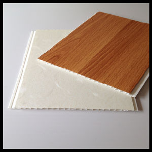 Wooden Laminated PVC Panel 250*8mm Design (HN-2516) pictures & photos