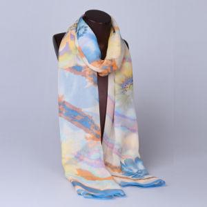 2016 Top Sale Fashion Printed Silk Scarf Ss1011