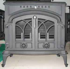 New Design Cast Iron Stove (FIPA 050) , Double Door Stove pictures & photos
