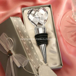 Wedding Favors Crystal Heart Bottle Stopper pictures & photos
