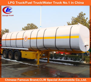 3 Axle 45000liters Carbon Steel Fuel Tank Semi-Trailer pictures & photos