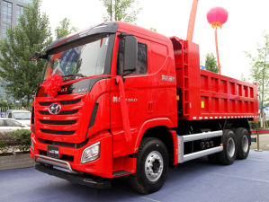 6*4 Tipper Truck Hyundai China