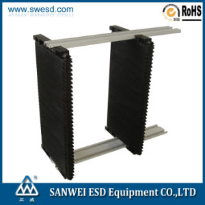 Plastic Black Conductive ESD PCB Circulation Rack (3W-9805402) pictures & photos