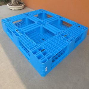 Heavy Duty Single Faced Style Plastic Pallet pictures & photos