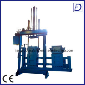 Hydraulic Textile Waste Baler Recycling Machine pictures & photos