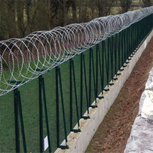 Galvanized Concertina Razor Wire for Protection pictures & photos