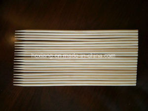 Bamboo Skewer with Paper Warpped and Hot Sell Sticks pictures & photos