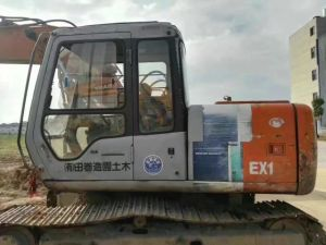 Original Colour Japan Made Hitachi Ex120-2 Excavator Cheap Price pictures & photos