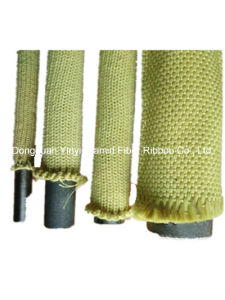 High Temperature Resistance Aramid Fiber Webbing Sleeve pictures & photos