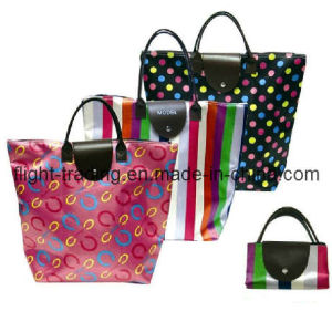 Foldable Ecological Promotional Bags Made of Satin Foaming pictures & photos