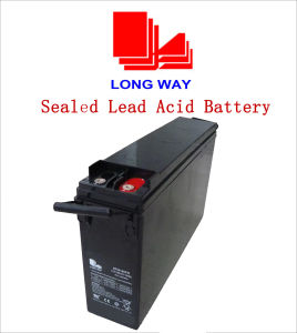 12V200ah Front-Terminal Deep-Cycle Solar Battery pictures & photos