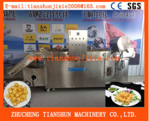 Industrial Potato Chips French Fries Frying Machine Tszd-30 pictures & photos