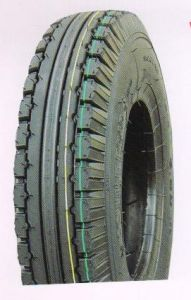 ISO9001 Certificated Good Quality Three Wheel Tyre (4.00-8) pictures & photos