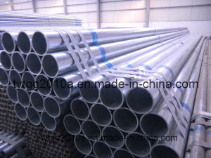 Medium Galvanized Steel Pipe with Yellow Band pictures & photos
