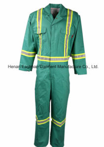 88%Cotton/12%Nylon Flame Retardant Safety Coverall pictures & photos