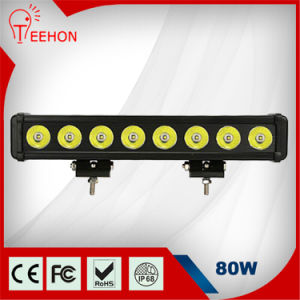 15 Inch 80 Watt Single Row CREE LED Light Bar pictures & photos