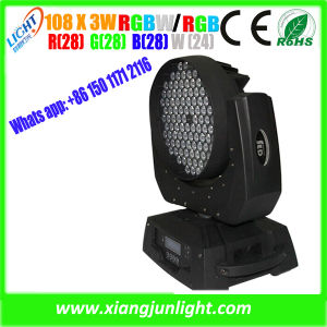 New 108PCS 3W DMX Wash Moving Head for Disco pictures & photos
