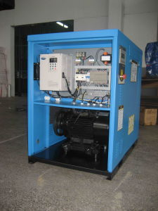 Variable Speed Driven 5-20HP Screw Compressor pictures & photos