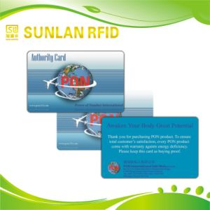 OEM ISO Cr80 Plastic RFID Smart Card Manufacturer with Offset /Silk Print pictures & photos