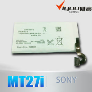 High Quality for Sony Battery MT27i pictures & photos
