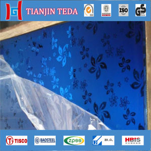 Stainless Steel Sheet with Beautiful Patterns for Decorative pictures & photos