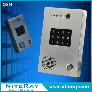 Remote Control Intercom Door Phone / Door Access Control Software / PBX Door Phone