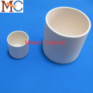High Temperature Al2O3 Cylindrical Crucibles Raw Material Crucibles pictures & photos