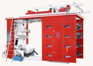 Stack Type High Speed Eight Colors Flexo Printing Machine pictures & photos