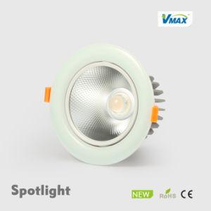 Hot Sale LED Downlight Ceiling Light Down Light Ceramic Spotlight LED pictures & photos