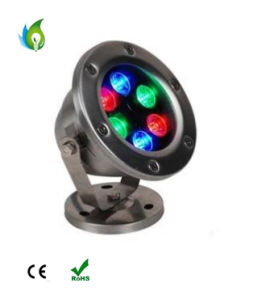 9W 12W 18W LED Underwater Light RGB White Swimming Pool Lighting pictures & photos