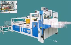 Semi-Automatic Carton Box Folder Gluer Machinery