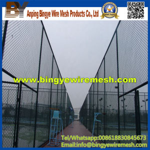 PVC Coated Chain Link Fence (diamond wire mesh) pictures & photos
