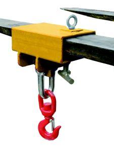 Fork Hook Used on Forklift