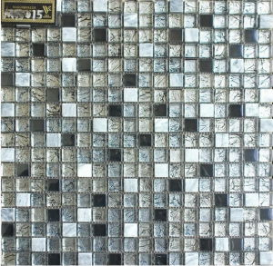 Rustic Glass Tiles Marble Wall Tiles Mosaic (VM15015)