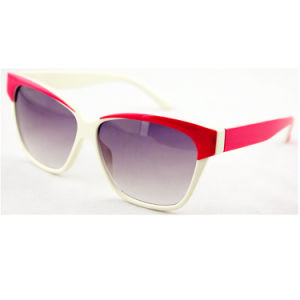 UV Protected Cat Eye Polarized Fashion Lady Sunglasses (14202)