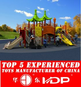 Outdoor Children Playground Plastic Slide Toys Equipment Used (HD15A-037A) pictures & photos