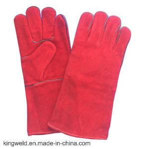 "14"" Full Cow Leather Welding Gloves, Working Gloves, Full Lining"