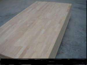 4* 8 Ft 9- 40mm 100%Thailand Rubber Wood Finger Joint Board pictures & photos