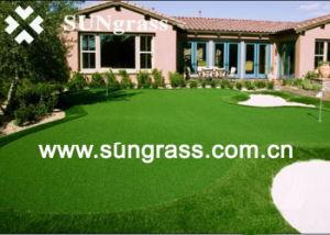 35mm True Landscape Garden Artificial Grass (QDS-35UB) pictures & photos